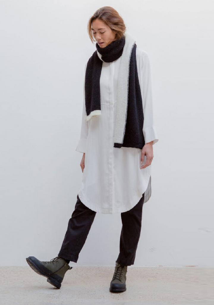 Pantalón longo 4 petos sarga de algodón